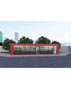 Obemannad Butik 40-fots container